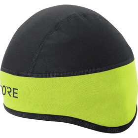 GORE WEAR C3 Windstopper Helmet Cap neon yellow/black